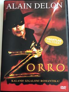 Zorro! DVD 1975 / Directed by Duccio Tessari / Starring: Alain Delon, Ottavia Piccolo, Enzo Cerusico, Moustache Giacomo / Uncut edition (5999554190808)