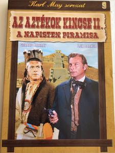 Die Pyramide des Sonnegottes DVD 1965 Az Aztékok Kincse II. A napisten piramisa / Directed by Robert Siodmak / Starring: Lex Barker, Michele Girardon, Gerard Barray, Rik Battaglia (5999883048016)