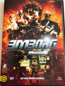 Manborg DVD 2011 Emborg / Directed by Steven Kostanski / Starring: Matthew Kennedy, Adam Brooks, Meredith Sweeney, Conor Sweeney, Ludwig Lee (5996471000517)