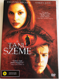 Eye of the Beholder DVD 1999 A Tanú Szeme / Directed by Stephan Elliott / Starring: Ewan McGregor, Ashley Judd, Patrick Bergin, k.d. Lang, Jason Priestley, Geneviève Bujold (5999545588133)