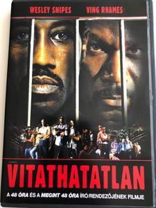 Undisputed DVD 2002 Vitathatatlan / Directed by Walter Hill / Starring: Wesley Snipes, Ving Rhames (5999075601920)