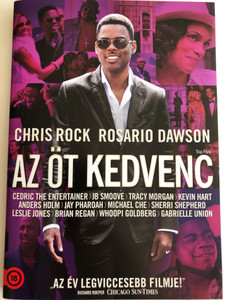 Top Five DVD 2014 Az Öt kedvenc / Directed and Written by Chris Rock / Starring: Chris Rock, Rosario Dawson (5996051322282)
