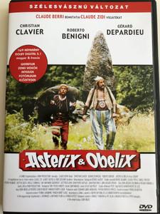 Asterix et Obelix DVD 1999 Asterix és Obelix / Directed by Claude Zidi / Starring: Christian Clavier, Gérard Depardieu, Roberto Benigni, Laetitia Casta (5999545560085)