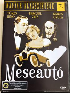 Meseautó DVD 1934 Dream Car / Directed by Gaál Béla / Starring: Perczel Zita, Kabos Gyula, Törzs Jenő / Magyar Klasszikusok 7. / Hungarian Black & White Classic (5999881068955)