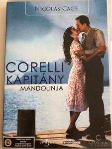 Captain Corelli's Mandolin DVD 2001 Corelli Kapitány Mandolinja / Directed by John Madden / Starring: Penelope Cruz, Nicolas Cage (5999554700106)