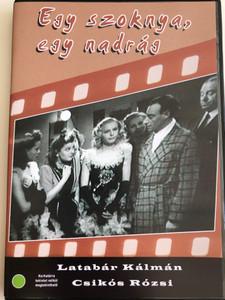 Egy Szoknya, egy nadrág DVD 1943 One skirt, one trouser / Hungarian Classic / Directed by Hamza Ákos / Starring: Latabár Kálmán, Csikós Rózsi (5996051280360)