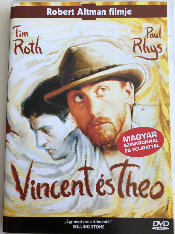 Vincent and Theo DVD 1990 Vincent és Theo / Directed by Robert Altman / Starring: Tim Roth, Paul Rhys (5999881767612)