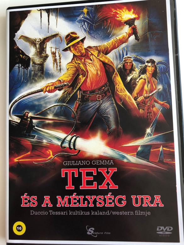 Tex e il signore degli abissi DVD 1985 Tex és a mélység Ura (Tex and the Lord of the Deep) / Directed by Duccio Tessari / Starring: Giuliano Gemma, William Berger, Carlo Mucari, Peter Berling (5999884099215)