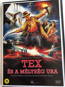 Tex e il signore degli abissi DVD 1985 Tex és a mélység Ura (Tex and the Lord of the Deep) / Directed by Duccio Tessari / Starring: Giuliano Gemma, William Berger, Carlo Mucari, Peter Berling (5999884099215)