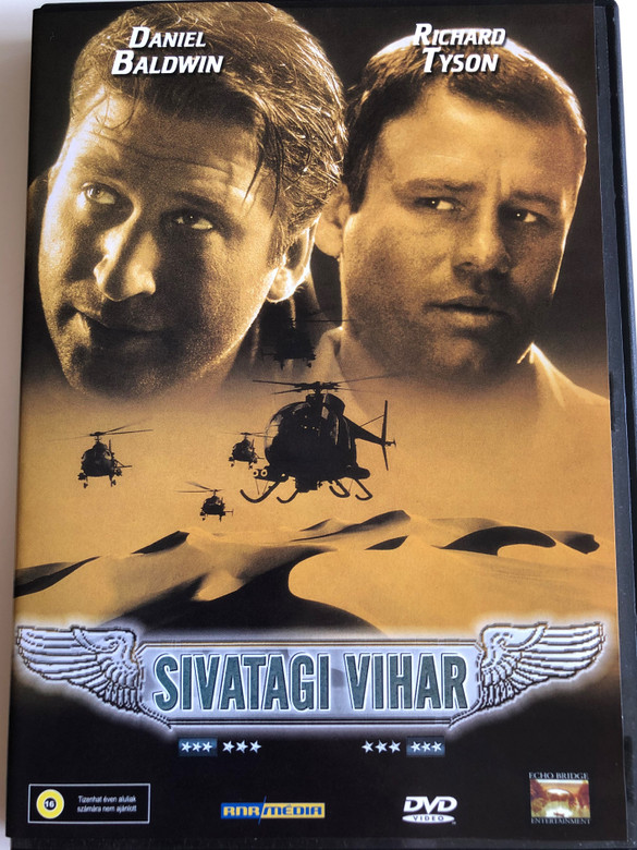 Desert Thunder DVD 1998 Sivatagi Vihar (Árnyékkommandó) / Directed by Jim Wynorski / Starring: Daniel Baldwin, Stacy Haiduk, Richard Tyson (5998557161563)