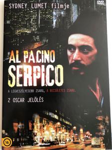 Serpico DVD 1973 / Directed by Sidney Lumet / Starring: Al Pacino, John Randolph, Jack Kehoe, Biff McGuire, Barbara Eda-Young (5996473011634)