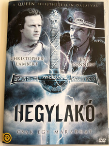 Highlander DVD 1986 Hegylakó - Csak egy maradhat / Directed by Russell Mulcahy / Starring: Christopher Lambert, Sir Sean Connery, Clancy Brown, Roxanne Hart (5996473013065)
