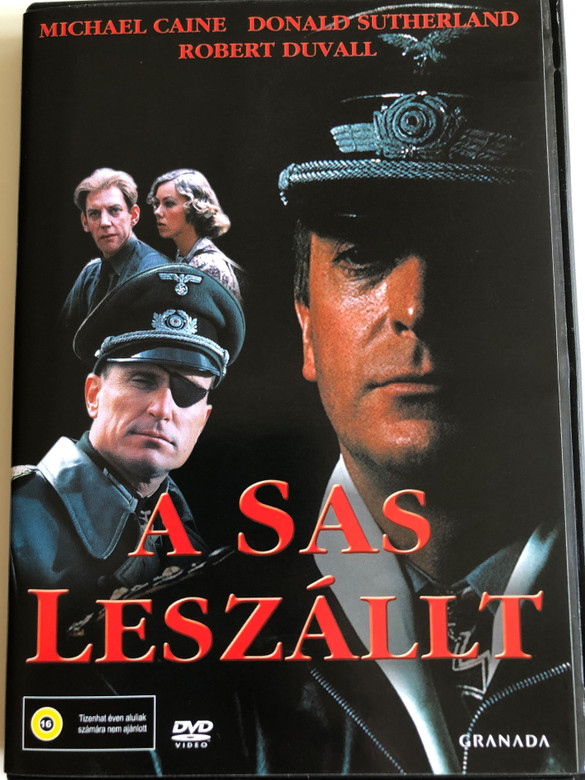 The Eagle Has landed DVD 1976 A Sas leszállt / Directed by John Sturges / Starring: Michael Caine, Donald Sutherland, Robert Duvall (5999546330632)