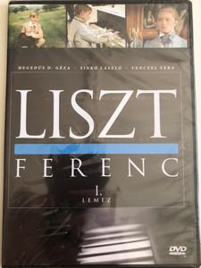 Liszt Ferenc TV series DVD 1982 / Disc I. / Directed by Szinetár Miklós / Starring: Andrea Bürgin, Sinkó László, Venczel Vera, Bolba Tamás, Hegedűs D. Géza / MTVA / Episodes 1-2. (5999884941163)