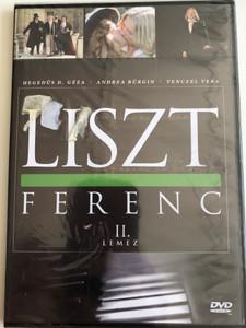 Liszt Ferenc TV series DVD 1982 / Disc II. / Directed by Szinetár Miklós / Starring: Andrea Bürgin, Sinkó László, Venczel Vera, Bolba Tamás, Hegedűs D. Géza / MTVA / Episodes 3-4. (5999884941170)