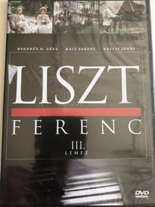 Liszt Ferenc TV series DVD 1982 / Disc III. / Directed by Szinetár Miklós / Starring: Andrea Bürgin, Sinkó László, Venczel Vera, Bolba Tamás, Hegedűs D. Géza / MTVA / Episodes 5-6. (5999884941187)