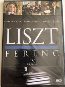 Liszt Ferenc TV series DVD 1982 / Disc 4. / Directed by Szinetár Miklós / Starring: Andrea Bürgin, Sinkó László, Venczel Vera, Bolba Tamás, Hegedűs D. Géza / MTVA / Episodes 7-8. (5999884941194)