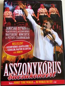 Janicsák István és a Veresegyházi Asszonykórus DVD 2009 / Búcsúkoncert / Recorded in 2008 in Petőfi Hall, Budapest (5099996486191)