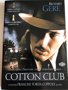 The Cotton Club DVD 1984 / Directed by Francis Ford Coppola / Starring: Richard Gere, Diane Lane, Lonette McKee, Bob Hoskins, James Remar, Nicolas Cage (8596978520319)