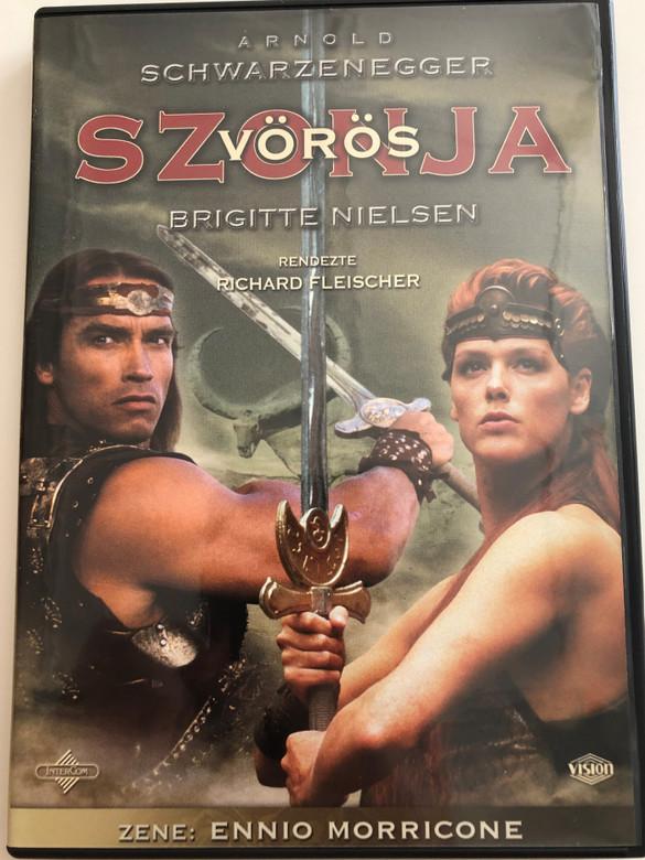 Red Sonja DVD 1985 Vörös Szonya / Directed by Richard Fleischer / Starring: Arnold Schwarzenegger, Brigitte Nielsen (5996255713534)