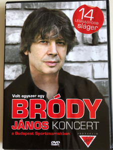 Volt Egyszer Egy Bródy János Koncert A Budapest Sportcsarnokban / DVD 2005 / Malibu Records – MR004 (5990501940002)