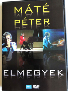 Máté Péter - Elmegyek DVD 2009 / Európa Records ‎– ER9033 / Great Hits from the famous singer (5999557441167)