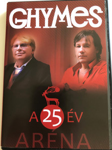 Ghymes ‎– A 25 Év - Aréna DVD 2009 / 25th anniversary album / Recorded LIVE in Budapest Pap László Sport Arena (5099945882692)