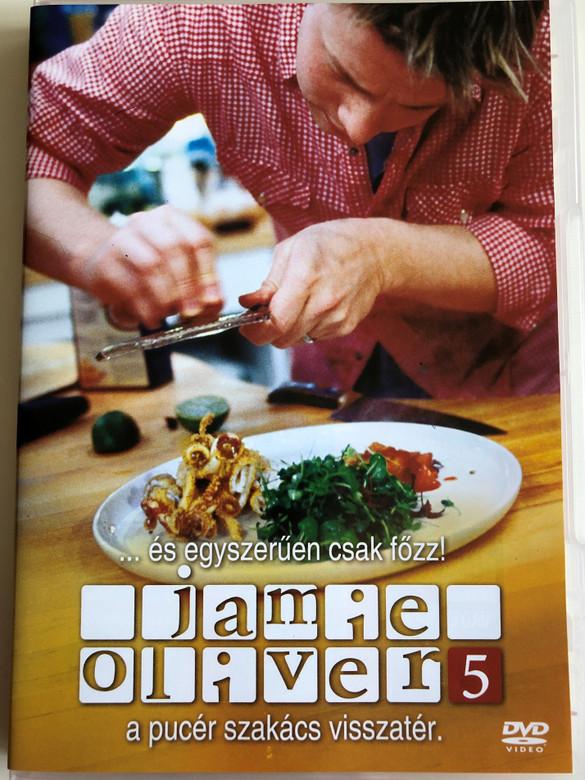 Oliver's Twist The Naked Chef DVD 2002 Jamie Oliver 5 a pucér szakács visszatér / Directed by Brian Klein / 3 episodes / Cooking with Jamie Oliver (5996473003035)