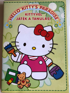 Hello Kitty's Paradise DVD 2002 Kittyvel játék a tanulás! / Directed by Haruhiko Sakamoto / 8 episodes on disc (5999883320556)