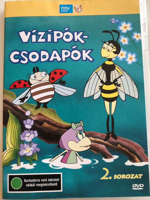 Vízipók-csodapók 2. sorozat DVD 1980 / Directed by Szabó Szabolcs, Haui József / Written by Kertész György / Hungarian Classic Cartoon / 13 Episodes on disc (5996357342748)