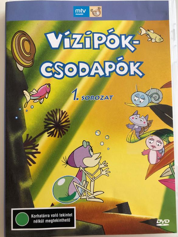 Vízipók-csodapók 1. sorozat DVD 1980 / Directed by Szabó Szabolcs, Haui József / Written by Kertész György / Hungarian Classic Cartoon / 13 Episodes on disc (5996357342724)