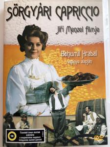 Postřižiny DVD 1980 Sörgyári Capriccio / Directed by Jiří Menzel / Starring: Magda Vášáryová, Jiří Schmitzer, Jaromír Hanzlík, Rudolf Hrušínský / Based on the novel by Bohumil Hrabal (5996357343264)