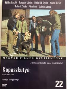 Kopaszkutya DVD 1981 Bald-Dog-Rock / Directed by Szomjas György / Starring: Földes László, Schuster Lóránt, Deák Bill Gyula, Kőrös József, Pálmai Zoltán, Póka Egon, Szénich János / Hungarian Film Collection (5999546331790)