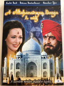 The Maharaja's Daughter 1. DVD 1994 A Maharadzsa lánya 1. rész / Directed by Burt Brinckerhoff / Starring: Kabir Bedi, Bruce Boxleitner, Hunter Tylo / Mini-series (5999883203460)