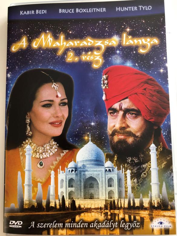 The Maharaja's Daughter 2. DVD 1994 A Maharadzsa lánya 2. rész / Directed by Burt Brinckerhoff / Starring: Kabir Bedi, Bruce Boxleitner, Hunter Tylo / Mini-series (5999883203682)
