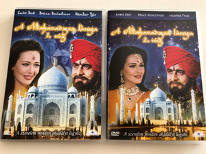 The Maharaja's Daughter Parts 1&2 DVD 1994 A Maharadzsa lánya 1. és 2. rész / Directed by Burt Brinckerhoff / Starring: Kabir Bedi, Bruce Boxleitner, Hunter Tylo / Mini-series / 2 DVD set (TheMaharajasDaughterSET)