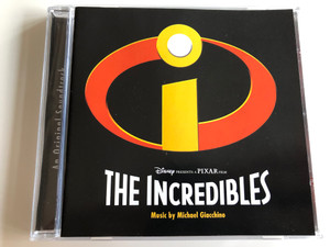 An Original Soundtrack: Disney Presents a Pixar Film: The Incredibles / Music by Michael Giacchino / AUDIO CD 2004 / Walt Disney Records (5050467010024)