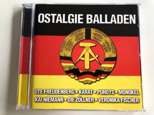 Ostalgie Balladen / Audio CD 2003 / Nostalgy Ballads of GDR / Ute Freudenberg, Karat, Puhdys, Monokel, Kai Niemann, Die Zöllner, Veronika Fischer / 2 CD (090204950409)