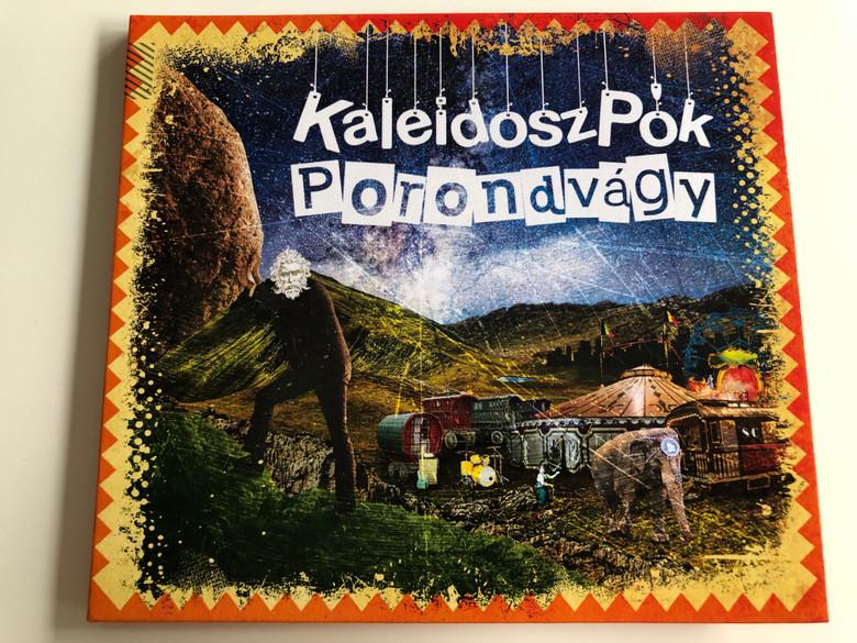 KaleidoszPók - Porondvágy / Audio CD 2018 / Huszák Zsolt, Németh-Szabó Tamás, Ócsai Zoltán, Smidéliusz Gábor, Végh Szabolcs, Szabó Tamás / Gryllus / GCD 212 2018 (5999885934775)