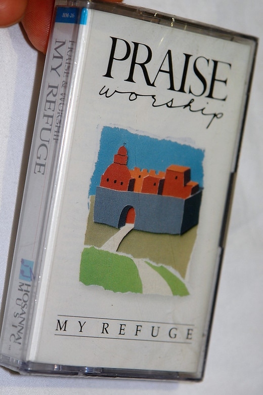 Praise Worship - My Refuge 1989 / Hosanna Music - Audio Cassette / Christian Live Praise and Worship Music