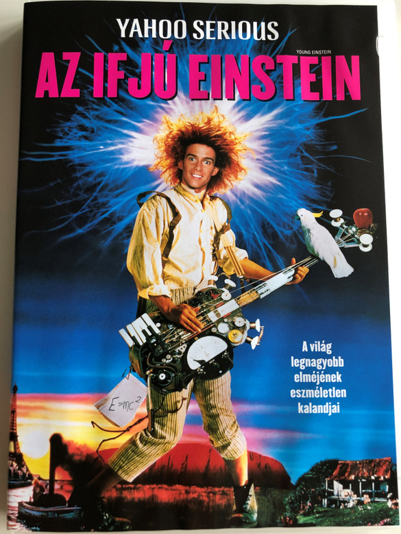 Young Einstein DVD 1988 Az ifjú Einstein / Directed by Yahoo Serious / Starring: Yahoo Serious, Odile Le Clezio, John Howard (5999048900029)