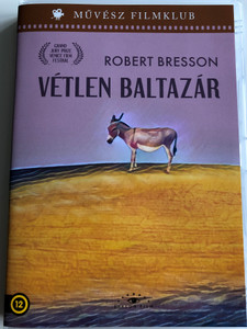 Au Hasard Balthazar DVD 1966 Vétlen Baltazár / Directed by Robert Bresson / Starring: Anne Wiazemsky / Black & White (5999886090012)