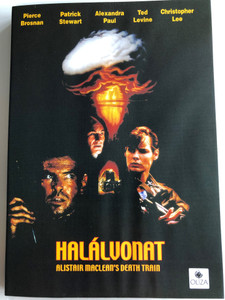 Alistar Maclean's Death Train DVD Halálvonat AKA Detonator / Directed by David Jackson / Starring: Pierce Brosnan, Patrick Stewart, Christopher Lee, Ted Levine, Alexandra Paul