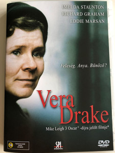 Vera Drake DVD 2004 Feleség. Anya. Bűnöző? / Directed by Mike Leigh / Starring: Imelda Staunton, Richard Graham, Eddie Marsan, Anna Keaveney, Sally Hawkins, Alex Kelly, Daniel Mays, Phil Davis (5999544151321)