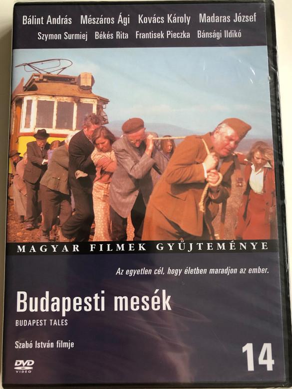 Budapest Tales DVD 1976 Budapesti mesék / Directed by Szabó István / Starring: Mészáros Ági, Maja Komorowska, Franciszek Pieczka, Bálint András, Bánsági Ildikó, Madaras József, Szymon Szurmiej / Hungarian Movies Collection (5999546331189)