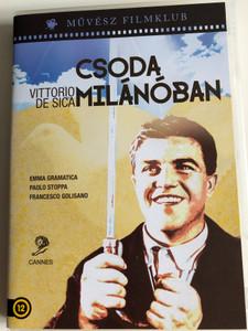 Miracolo a Milano DVD 1951 Csoda Milánóban (Miracle in Milan) / Directed by Vittorio De Sica / Starring: Emma Gramatica, Francesco Golisano (5999886089450)