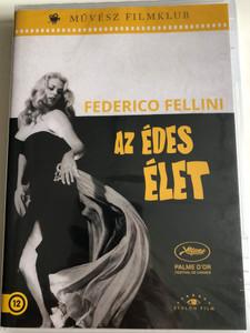 La Dolce Vita DVD 1960 Az édes élet / Directed by Federico Fellini / Starring: Marcello Mastroianni, Anita Ekberg, Anouk Aimée, Yvonne Furneaux, Magali Noë, Alain Cuny, Nadia Gray (5999886090159)
