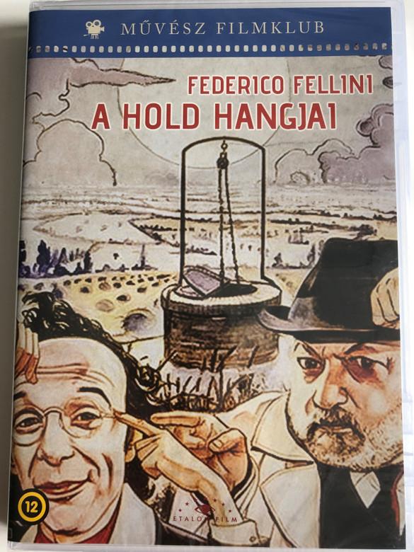 La voce della Luna DVD 1990 A Hold Hangjai (The Voice of the Moon) / Directed by Federico Fellini / Starring: Roberto Benigni, Paolo Villaggio, Nadia Ottaviani (5999886090111)