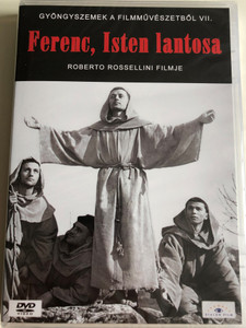 Francesco giullare di Dio DVD 1950 Ferenc, Isten lantosa (The Flowers of St. Francis) / Directed by Roberto Rosselini / Starring: Brother Nazario Gerardi, Brother Severino Pisacane, Esposito Bonaventura (5999885039296)