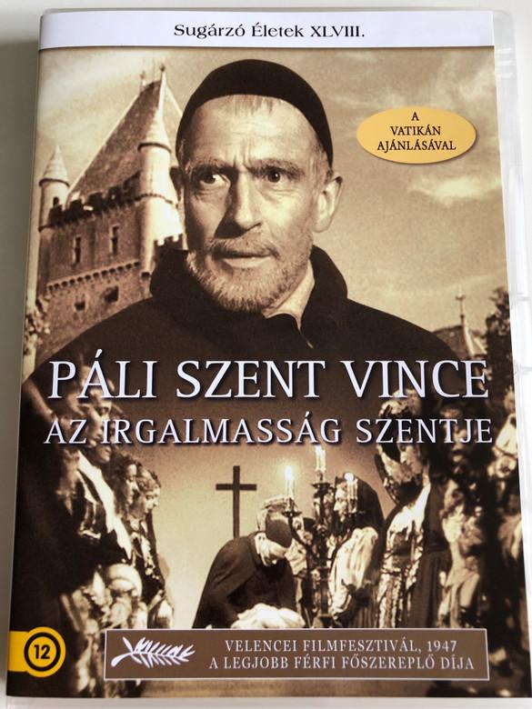 Monsieur Vincent DVD 1947 Páli szent Vince / Directed by Maurice Cloche / Starring: Pierre Fresnay, Aimé Clariond, Jean Debucourt, Lise Delamare, Germaine Dermoz (5999886089801)
